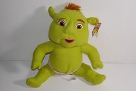 "Nanco 2006 Dreamworks Shrek the Third Ogre Baby 11"" Plush Stuffed Toy w/... - $14.99"