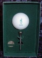 Reed & Barton 1996 Atlanta Olympic Golf Ball & Tee S