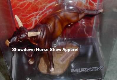 Breyer PBR Bull Collectibulls Mudslinger 8 Second Hero
