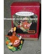 1997 Hallmark Keepsake Ornament Lion King Timon Pumbaa - $15.00