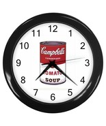 NEW Wall Clock Campbell Soup - $16.50