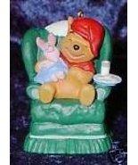 Hallmark Keepsake Ornament Waitin On Santa Piglet Pooh - $15.00