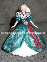 Keepsake Holiday Barbie #3 Hallmark Ornament