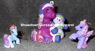 My Little Pony Horse Christmas Ornament Set Kurt Adler
