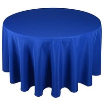 Royal - 132 Inch Round Polyester Tablecloths - ( 132 Inch | Round ) - $23.88