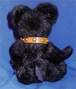 Boyds Teddy Bear Blackstone Studded Collar 1998 Retired
