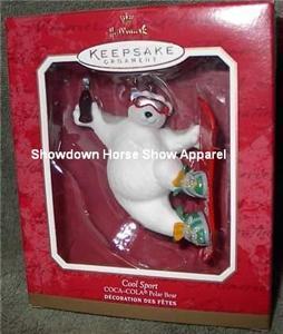 2001 Keepsake Ornament Cool Sport Coca-Cola Polar Bear