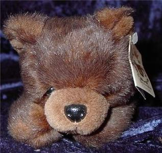 Bearington Collection Teddy Bear Lazy Ben Lying