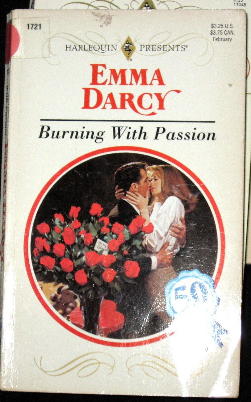 Burning With Passion by Emma Darcy (1995) Harlequin PB