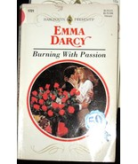 Burning With Passion by Emma Darcy (1995) Harlequin PB - $0.49