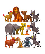 Lion King Figures Set Simba Nala Pumbaa Timon Hyena Anime Action Figure Toy Lot - $15.99