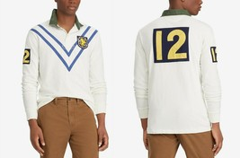 Polo Ralph Lauren Men's Patch Rugby Classic Fit Polo Shirt, Size L, MSRP $168 - $74.79