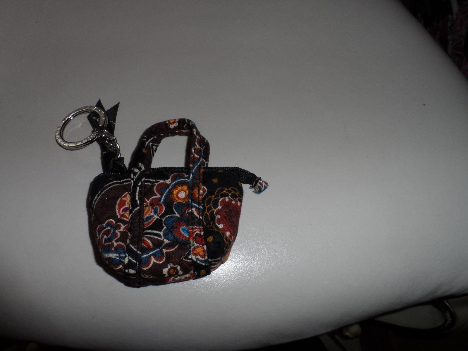 Vera Bradley Kensington mini Miller keychain