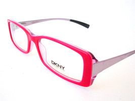 DKNY Eyeglasses frame DY 4555 Hot Pink 3199 Authentic New 51-16-130 - $60.73