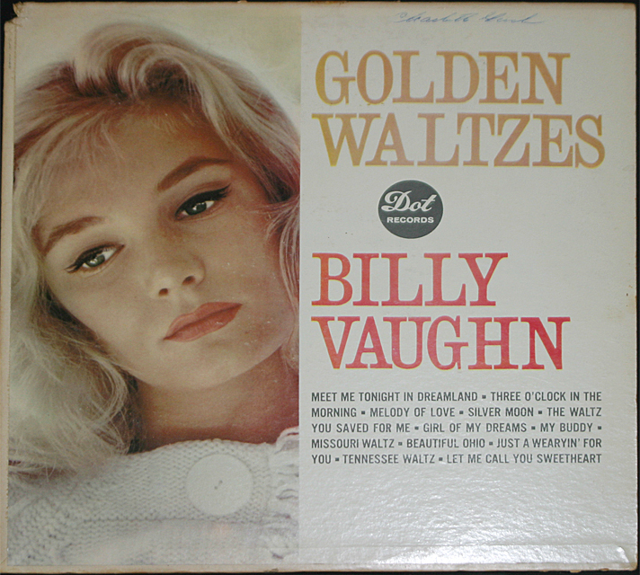 Billy vaughn  golden waltzes  cover