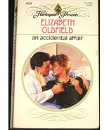 Accidental Affair by Oldfield (1992) Harlequin PB  - $0.49