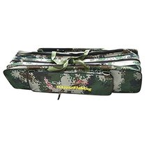 Two Tiers Fishing Rod Cases Tubes Fishing Gear Fishing Poles Bags Camouflage - $32.62
