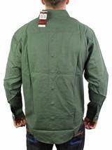 Levi's Men's Cotton Long Sleeve Denim Button Up Dress Shirt Green #81059 size S image 2