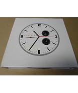 Chrysler Double Gauge Logo Wall Clock Official Licensed Chrysler Metal W... - $19.94