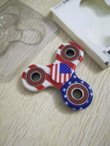 USA American Flag Fidget Spinner EDC Torqbar Toys - 1x w/Random Color and Design image 5