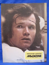 NHL Vancouver Canucks Hockey Magazine Vintage Collector January 1974 Sou... - $9.95