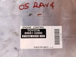 Toyota RAV4 Rav-4 Rav 4 ECM ECU Engine Control Module 89661-42B80 212000-2310 image 2