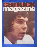 NHL Vancouver Canucks Hockey Magazine Vintage Collector September 1974 S... - $9.95
