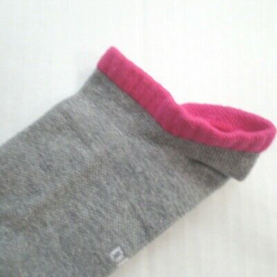 Nike Youth Cushioned Ankle Socks - SX6838 - Gray Pink - Size M - NEW