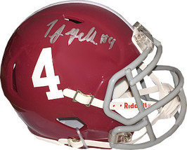 TJ Yeldon signed Alabama Crimson Tide Riddell #4 Speed Mini Helmet #4 (s... - $58.95