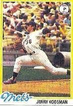 1978 Topps Jerry Koosman #565 Baseball Card - $1.73