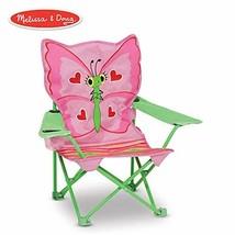 Silla Plegable De Playa Para Niños Con Lindo Diseño De Mariposa Colorida - $30.64