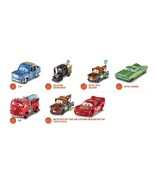 *LOT OF 6* Mattel Collectable Disney Pixar Cars #95 Returns Collection - $29.69