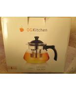 OGKitchen 1.1 Quarts Infuser  Glass Tea Pot Brand New in box - $10.00