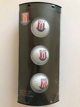 3 STOKE CITY Club de Fútbol con Escudo GOLF BALLS - $30.54