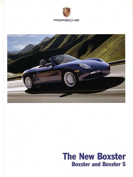 2005 Porsche BOXSTER sales brochure catalog US 05 S