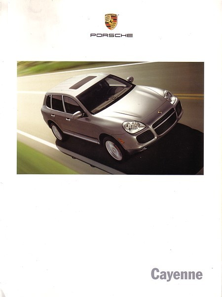 2006 Porsche CAYENNE sales brochure catalog US 06 S Turbo