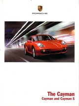 2007 Porsche CAYMAN sales brochure catalog US 07 S - $12.00