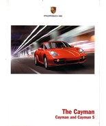 2007 Porsche CAYMAN sales brochure catalog US 07 S - $9.00