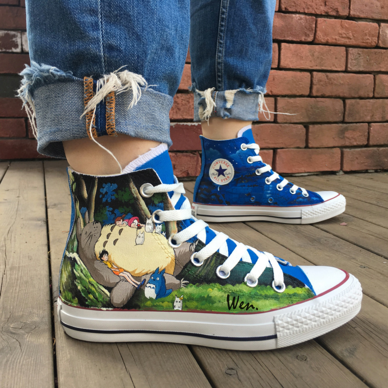 My Neighbour Totoro Converse All Star Women and 50 similar items 203d5d2f3