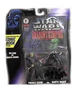 Star Wars Shadows of the Empire Darth Vader Vs Prince Xizor action figur... - $12.99