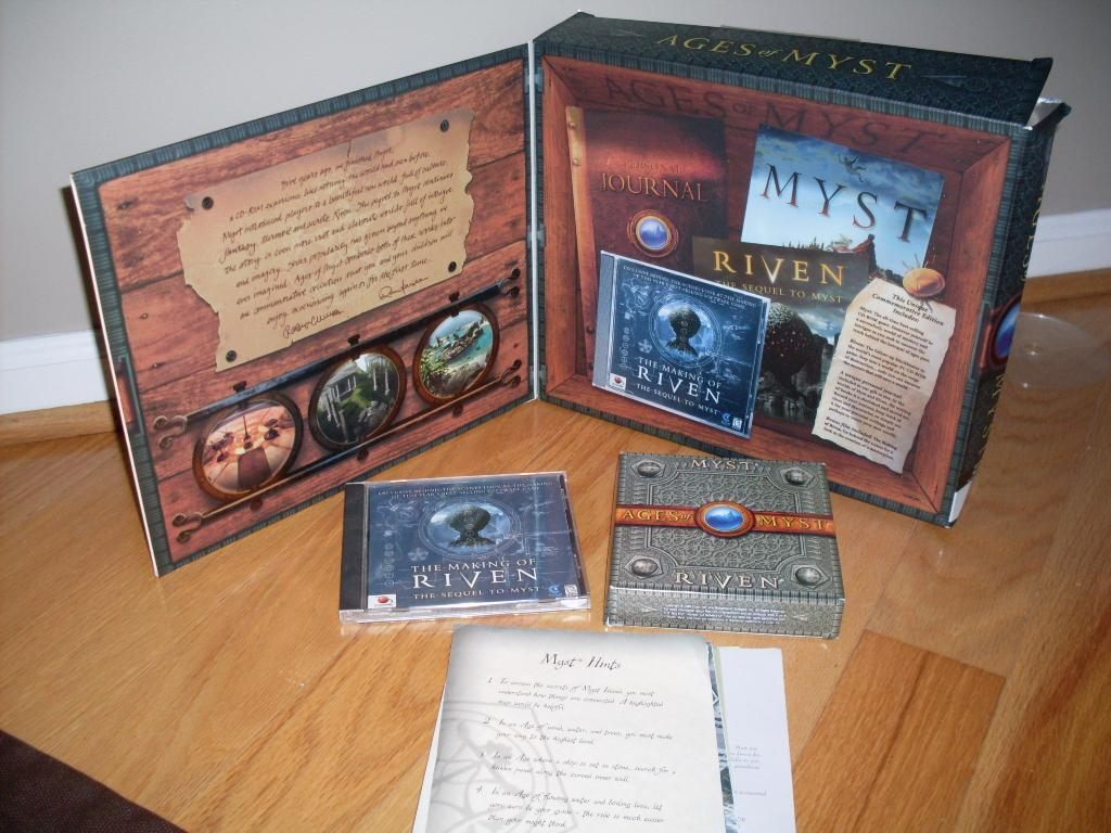Ages of Myst - Fifth Anniversary Comm Edition - game - 20% off!!