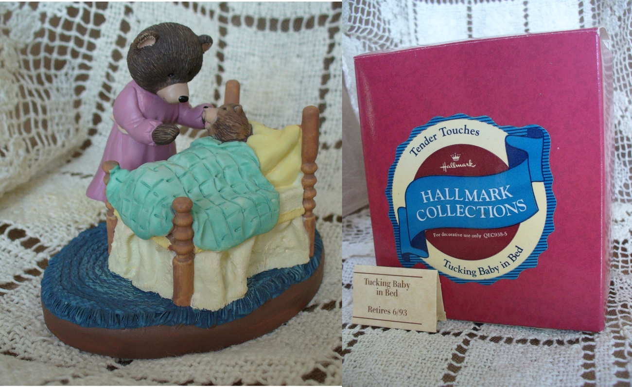 Hallmark Tender Touches Tucking Baby in Bed