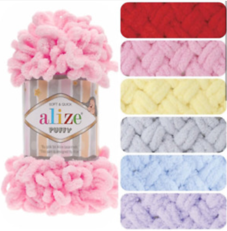 Primary image for 17 Balls !!!  Alize Puffy / Alize / Yarn /  Wool / Knitting (choose colors tex)