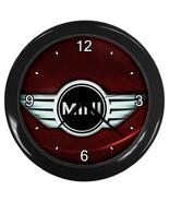 NEW Wall Clock Mini Cooper Logo - $16.50
