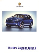 2006 Porsche CAYENNE TURBO S sales brochure catalog US 06 - $10.00