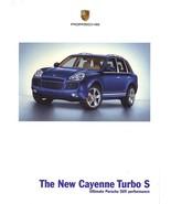 2006 Porsche CAYENNE TURBO S sales brochure catalog US 06 - $10.00