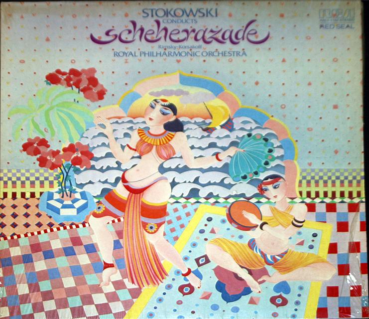 Scheherazade stokwski  cover