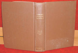 Leslies Popular Monthly Bound 1889 literary stories events history illus... - $25.00