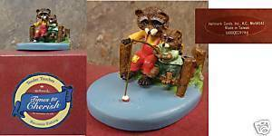Hallmark Tender Touches - Raccoons Fishing