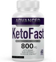 KETOFAST WEIGHT LOSS FORMULA 60 CAPS KETO FAST BHB - $19.77